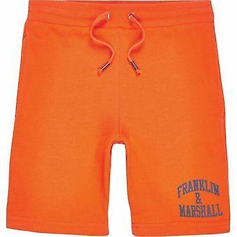 Franklin & marshall chlapci oranžové šortky