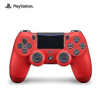 لسوني PS4 وحدة تحكم لوحة الألعاب اللاسلكية بلوتوث Virbration لعبة جويستيك (أحمر)