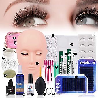 19/22 In 1 false eyelash extension kit