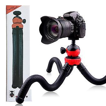 Trépied octopus flexible pour téléphones mobiles, action, compact & appareils photo DLSR -Noir