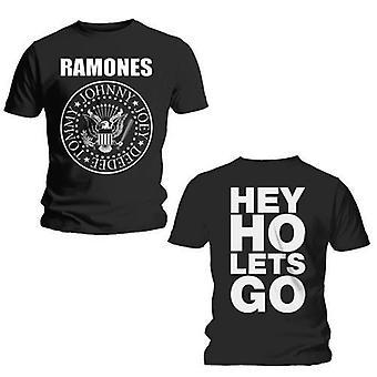 Ramones tee: hey ho (front & back) (back print)