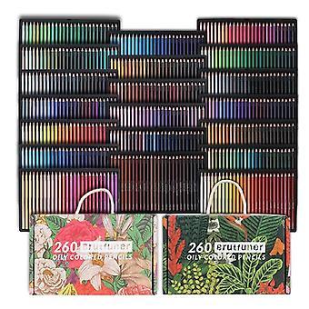 Vdstar 520 Color Professional Colored Pencils Los lápices aceitosos son adecuados para artistas, niños, adultos, colorear, dibujar y dibujar