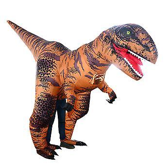 Super Tyrannosaurus (gyerekek) Halloween Cosplay Tyrannosaurus Rex felfújható jelmez dinoszaurusz jelmez