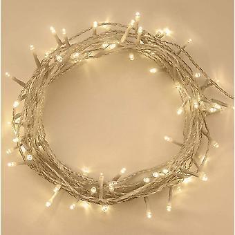 Lumières de Noël 100 Led 10m Intérieur Extérieur Arbre de Noël Lumières String Light
