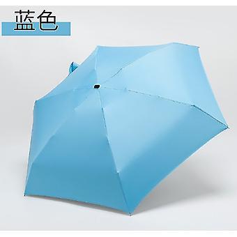 180g أزياء صغيرة مصغرة الأشعة فوق البنفسجية حماية للماء للطي مظلة