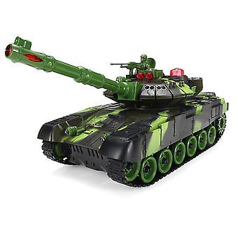 Tanque blindado de control remoto de trabajo