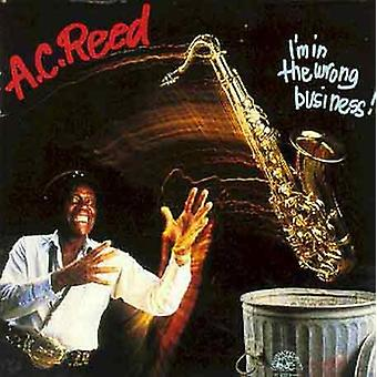 A.C. Reed - jag är i fel Business [CD] USA import
