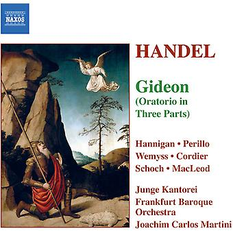 G.F. Handel - Handel: Gideon [CD] USA import