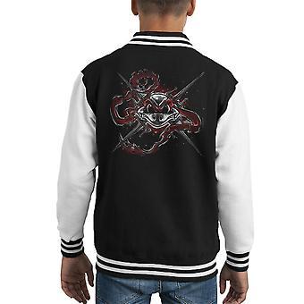 Mal en Varsity Jacket Bonemail Raphael Teenage Mutant Ninja Turtles amusent