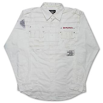 Live Mechanics Pain and Passion Shirt White