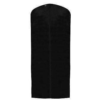 Black Breathable Polypropylene Zipped Dress Cover - 128x60cm made by Caraselle