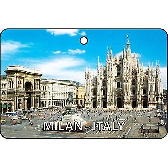 Milan - Italy Car Air Freshener