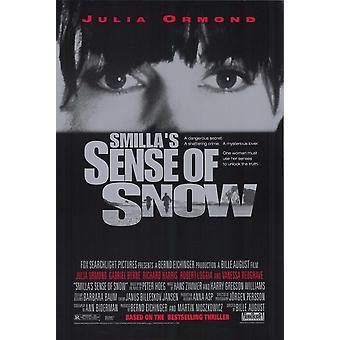 Smillas чувство снега плакат фильма (11 x 17)