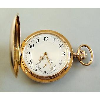 14 k Rose Gold pocket watch