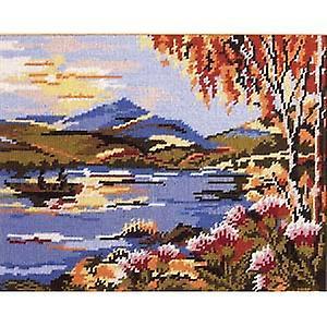Loch écossais Tapisserie Toile