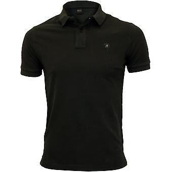 Replay Classic Pique Polo Shirt, Black