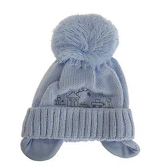 Baby poikien talvi tupsu hattu