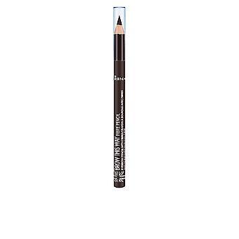 Rimmel London frente esta fibra forma lápiz #001-luz marrón para las mujeres