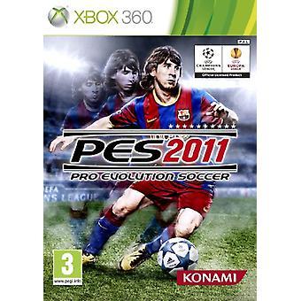 Pro Evolution Soccer 2011 (Xbox 360) - Factory Sealed