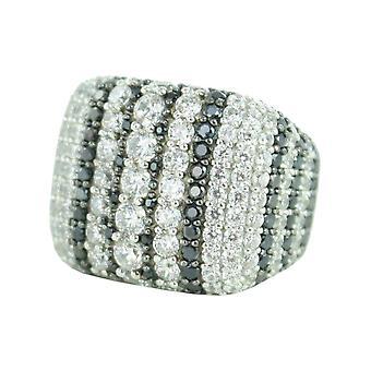 ESPRIT collection damer ring silver zirconia storlek 18 ELRG92381A180