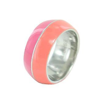 Anello in acciaio di ESPRIT donna Marin 68 mescolare ESRG11563C rosa corallo