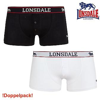 Mens Lonsdale Boxer shorts Oakworth - Double Pack