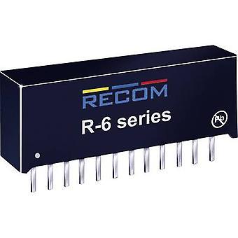 RECOM R-6212P DC/DC-omvandlare (tryck) 12 V DC 2 A 24 W No. av utgångar: 1 x