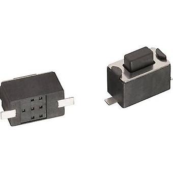 Würth Elektronik WS-TSW 434121043816 Druckknopf 12 V DC 0.05 A 1 x Off/(On) momentan 1 Stk.(s)