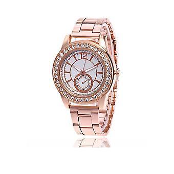 Luxe montre chic Or Rose pierres élégant