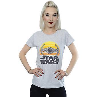 Star Wars Women's Sunset TIE Fighter T-Shirt