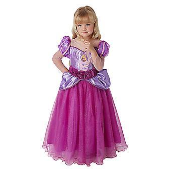 Rapunzel premie prinsessen kjole luksus prinsessen kostyme barn