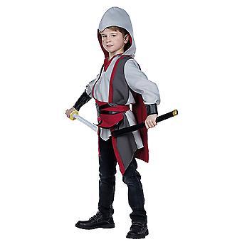 Guerreros del traje de luchador asesino medieval para niños