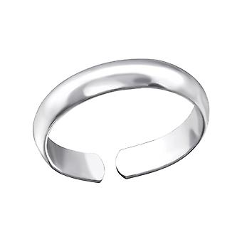 Plain - 925 Sterling Silver Toe Rings - W24326x