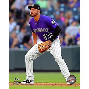 Nolan Arenado 2018 Action Photo Print