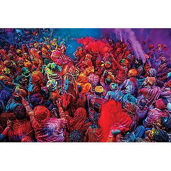 Festival d'affiches de couleurs