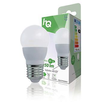 Hq Hqle27 mini001 Led-lamp Mini-globe E27 3,5 W 250 Lm 2 700 K