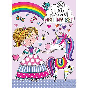Rachel Ellen Girls Princes Unicorn Writing Set