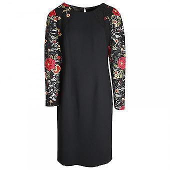 Michaela Louisa Lace Flower Detail Shift Dress