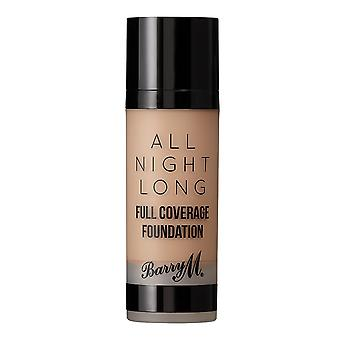 Barry M All Night Long Full Coverage Foundation-Dulce De Leche