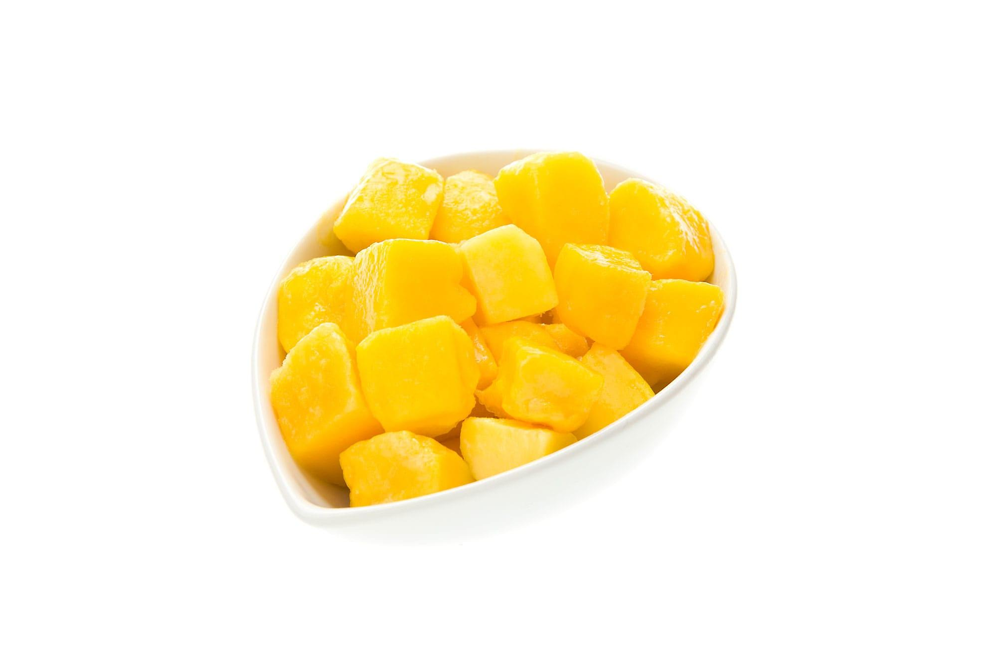 Greens Frozen Diced Mango