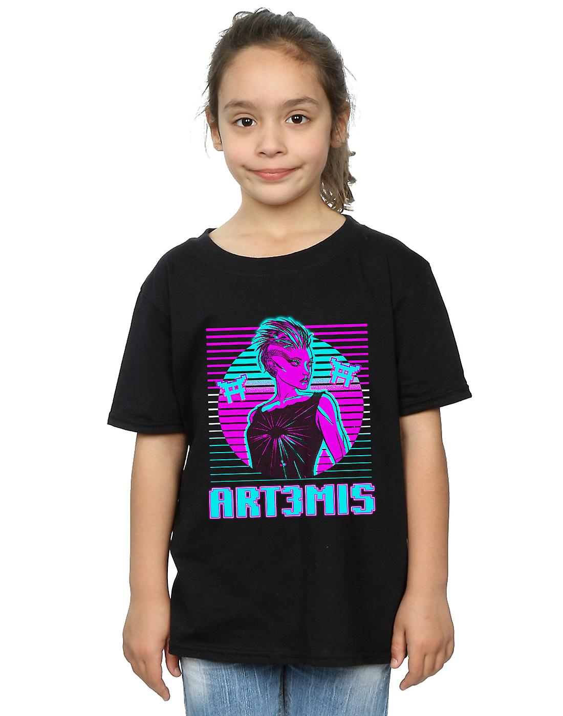 Ready Player One Girls Neon Art3mis T-Shirt