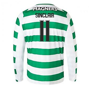2018-2019 Celtic Home Langarm-Shirt (Sinclair 11)