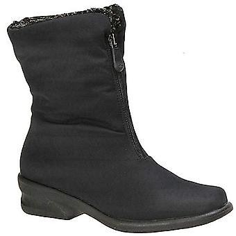 Toe Warmers Womens Michelle Square Toe Mid-Calf Cold Weather Boots