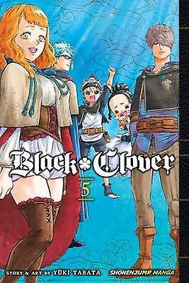 Black Clover - Vol. 5 by Yuki Tabata - 9781421591254 Book
