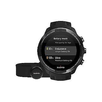 Suunto outdoor watch Suunto 9 Baro Black with heart rate strap SS050089000