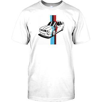 BMW M3 klassiska Coupe Pop Art Design - Mens T Shirt