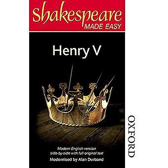 Shakespeare Made Easy - Henry V (Shakespeare Made Easy)