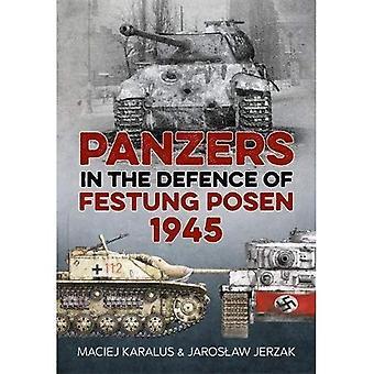 Panzers in de verdediging van de Festung Posen 1945