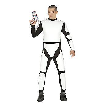 Mens Stormtrooper Fancy Dress Costume