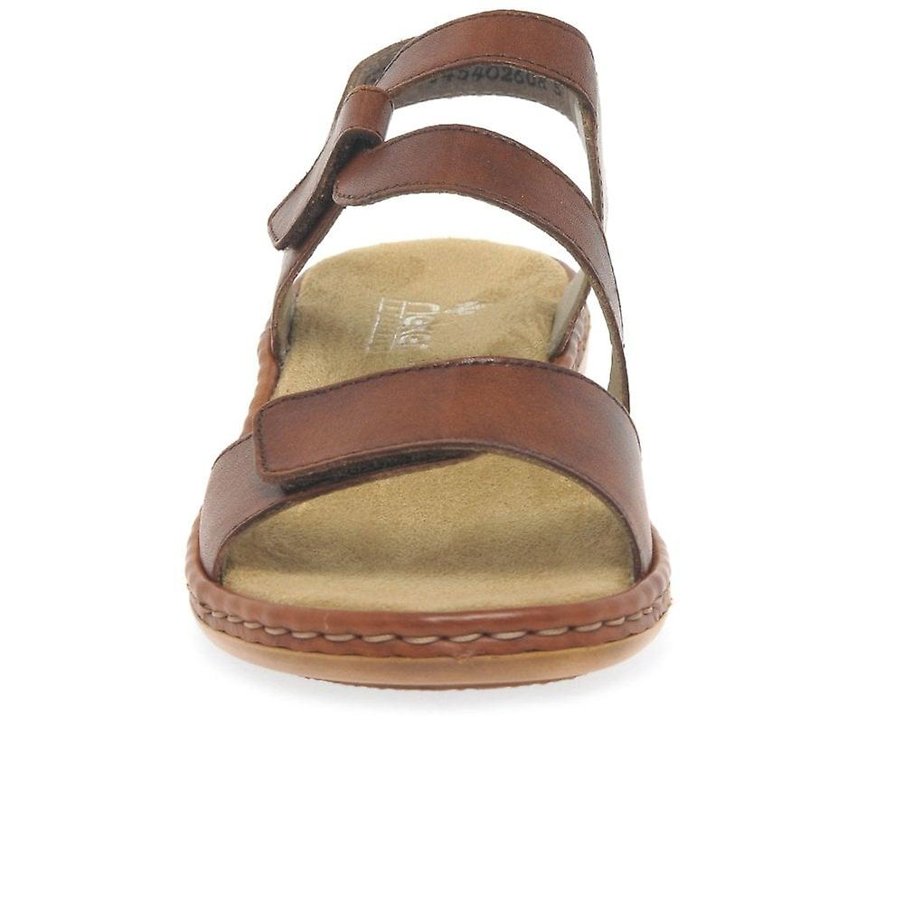Rieker Sphere Womens Riptape Sandals